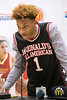 Romeo Langford thanked his family, friends and fans on Thursday afternoon as he received his McDonald's All-American jersey in a ceremony at New Albany High School. 2/22/18
