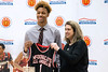 New Albany basketball standout Romeo Langford received his McDonald's All-American jersey on Thursday afternoon in a ceremony held in front of classmates, family and fans. 2/22/18