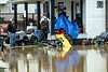A home once owned by WHAS-11's T-Bar-V stars Bob and Randell Atcher was flooded along Elm Street in West Point on Sunday. 2/25/18