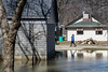 Residents along Riverview Road in West Point, KY as of Saturday were still surrounded by receding floodwaters. 3/3/18