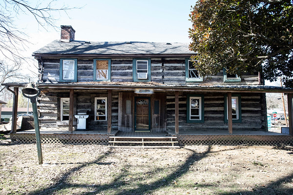 The Nifong cabin in Utica is believed to be the oldest structure in the state of Indiana and despite its longevity still suffers with rising floodwaters that damage its integrity. 3/4/18