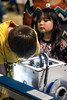 A 3D printer, complete with the on-site production of giveaway items, was all the rage for students at the KDF RoboRumble Regional Robot Competition on Saturday. 3/10/18