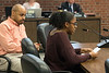 Manual High student Sadie Finley lodged a formal complaint about the atmosphere at her school to the JCPS board on Tuesday night. 3/27/18