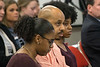 The Finley family waited to address the JCPS board on Tuesday night about their feelings on the current conditions at Manual High School. 3/27/18