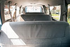 The back seat of the Ford passenger van owned by Highland Baptist Church was removed to reduce potential tip-overs associated with the extra weight of carrying 15 people. 4/6/18