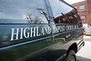An older model Ford van has become the second option for Highland Baptist Church being used to haul luggage and make short passenger trips around town. 4/6/18