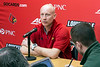 UofL mens basketball head coach Chris Mack introduced members of his coaching staff on Monday afternoon at the team's campus practice facility. 4/9/18