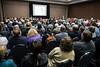 "A large crowd gathered on Saturday afternoon for a seminar called ""countering the mass shooter threat"" during the Concealed Carry Expo. 4/14/18"