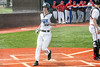 Eastern High's Blake Sutton scored the first run against PRP on Wednesday afternoon. 4/18/18