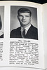 Bill MIller's senior photo at Pleasure Ridge Park High School was on display in an open yearbook during a press conference announcing his death on Tuesday morning. 4/24/18