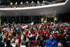 The auditorium at the Youth Performing Art School was packed as JCPS hosted speakers during an off-site board meeting on Tuesday night. 4/24/18