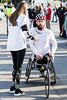 Wheelchair division winner Aaron Pike destroyed his previous record time by completing the Kentucky Derby Festival course in 46 minutes and 8 seconds. 4/28/18