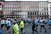 Runners in the Kentucky Derby Festival Marathons were treated to a scenic course complete with several historic landmarks like Whiskey Row and Churchill Downs. 4/28/18