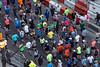 Kentucky Derby Festival Marathon and miniMarathon runners head west along Main Street on Saturday morning. 4/28/18
