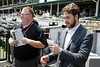 CJ writers Thomas Novelly and Jason Frakes went head-to-head at Churchill Downs on Wednesday using luck vs. experience in picking the ponies. 5/2/18