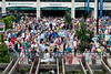 The crowds began to swell early at Churchill Downs as racing got underway at Thurby. 5/3/18