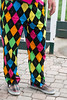 Thurby style included the colorful and outlandish as fans filled Churchill Downs on Thursday morning. 5/3/18