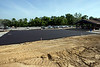 An asphalt slab at Kevin Hammersmith Park will eventually be the Romeo Langford basketball court when it opens on June 14th. 5/11/18