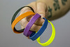 Color-coded bracelets mark certain milestones in the treatment process at Renew Recovery. 5/14/18