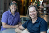 Business partners Andy Blieden and Jack Mathis plan to open a new wine bar in the rear of Work the Metal on Story Avenue. 5/24/18