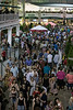 The paddock at Churchill Downs was brimming with activity on Saturday night as over 17,000 fans were in attendance at Downs After Dark. 6/2/18
