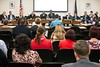 Concerned citizens voiced outrage and fear of a state takeover of JCPS during a Kentucky Board of Education meeting in Frankfort on Wednesday. 6/6/18
