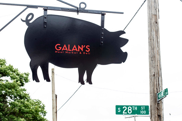 Galan's Meat Market & Deli is located at the corner of 28th & Market Streets and offers a variety of fresh cuts to the neighborhood. 6/27/18