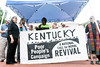 Members of the Poor People's Campaign held a rally on the steps of the Kentucky State Capitol on Tuesday afternoon before attempting to enter the building and present demands to Governor Bevin. 7/10/18