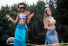 Mermaids dance with Forecastle fans in the Party Cove on Saturday. 7/14/18