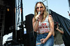 Margo Price played an afternoon set on the Boom Stage at Forecastle on Saturday. 7/14/18