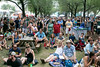 Fans gathered around the Port Stage on Sunday for a Maiden Radio Hour performance at Forecastle. 7/15/18
