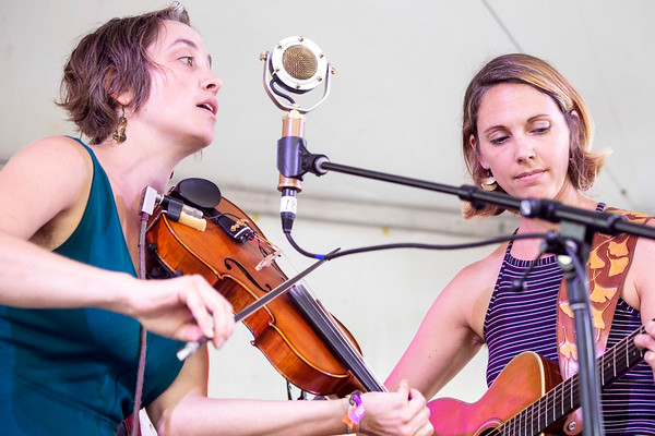 Maiden Radio Hour played a Sunday afternoon set on the Port Stage at Forecastle with a few featured friends from the local music scene. 7/15/18