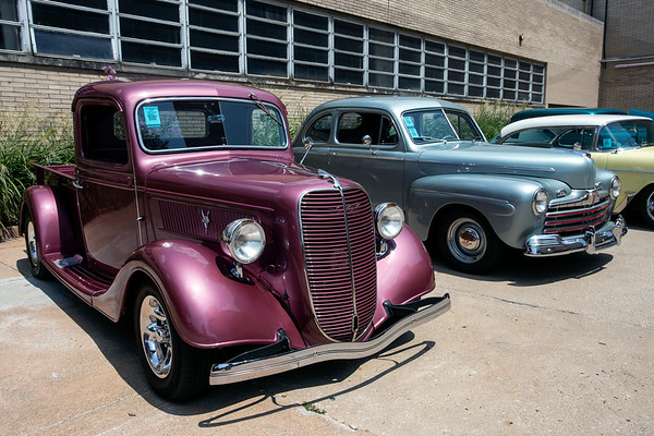 It was classic cars as far as the eyes could see at the Kentucky Expo Center on Saturday as the 49th Annual Street Rod Nationals drew thousands of fans. 8/4/18