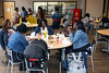 Customers flow in and out of Lucretia's Kitchen on Sunday for a menu featuring classic soul food. 9/9/18
