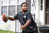 Demetric Flint enjoys football and aspires to someday play professionally. 9/16/18