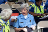 LMPD crossing guard Naomi Thomas celebrated her 50 years of service with friends and colleagues on Wednesday at the Police Academy on Taylor Blvd. 9/19/18