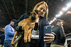 Toni Covone couldn't resist the selfie opportunity during Mutt Madness on Thursday in Freedom Hall. 10/18/18