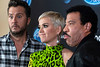 American Idol judges Luke Bryan, Katy Perry and Lionel Richie took a break at the Ali Center during Tuesday night auditions to speak to the media. 10/23/18
