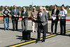Indiana senator Ron Grooms (R-46th District) spoke during a ceremony to open the expanded runway at the Clark Regional Airport on Wednesday. 10/24/18