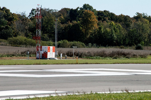 The Clark Regional Airport celebrated the 1500 foot expansion of its runway and the addition of a new hangar in Sellersburg on Wednesday. 10/24/18