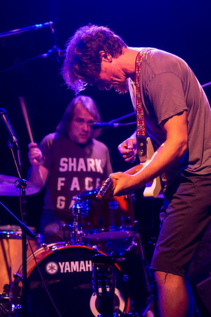 Academy Award nominated actor (and native Kentuckian) Michael Shannon hosted a get-the-vote-out rally at Odeon on Sunday night sharing the stage with drummer Ray Rizzo and others in the band Corporal. 11/4/18