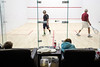 A battle of youth versus experience plays out in dramatic fashion on a squash court at the Louisville Boat Club on a Saturday afternoon. 11/10/18