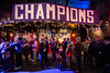 LouCity FC fans arrived early for a championship celebration at Headliners Music Hall on Tuesday night. 11/13/18