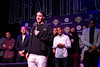LouCity FC captain and midfielder Paolo Delpiccolo expressed gratitude to the fans during a championship celebration on Tuesday at Headliners. 11/13/18