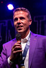 LouCity FC coach John Hackworth celebrated his first title with the team on Tuesday night at Headliners. Hackworth was hired after the start of the season. 11/13/18