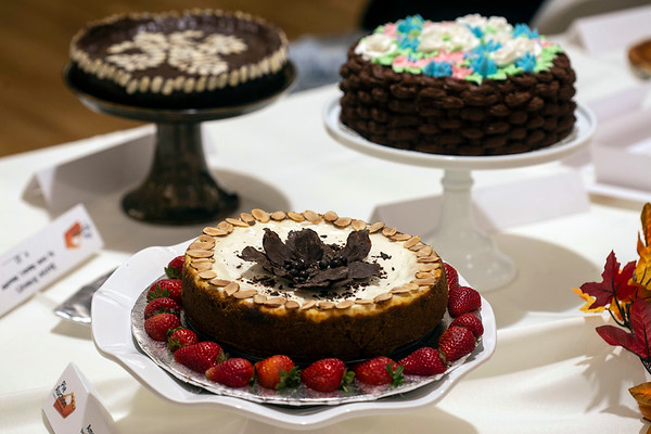 Pies and cakes were on the auction block Sunday as Kosair raised money for its facilities. 11/18/18