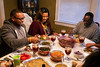 The Cosby family sits down for dinner on the Saturday after Thanksgiving. 11/24/18