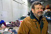 Volunteer Ken Hall is one of the drivers that has developed a trusting relationship with many in the city's homeless population. 11/26/18