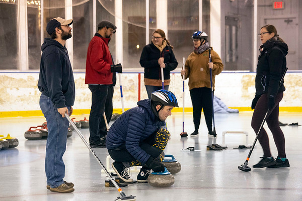 The Derby City Curling Club has set up shop at the Alpine Ice Arena on Gardiner Lane. The winter sport has seen an increase in popularity and nationwide club growth after several appearances in the Winter Olympics. 11/29/18