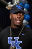 Moore High School defensive end JJ Weaver announced on Friday that he will attend UK. 11/30/18